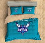 Charlotte Hornets Duvet Cover Bedding Set