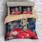 Cristiano Ronaldo 5 Duvet Cover Bedding Set