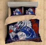 Denver Broncos 1 Duvet Cover Bedding Set