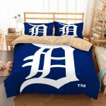 Detroit Tigers 1 Duvet Cover Bedding Set