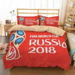FIFA World Cup Russia 2018 1 Duvet Cover Bedding Set