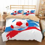 FIFA World Cup Russia 2018 3 Duvet Cover Bedding Set