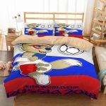 FIFA World Cup Russia 2018 2 Duvet Cover Bedding Set