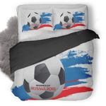 Fifa World Cup Russia 2018 Poster Duvet Cover Bedding Set