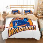 Golden State Warriors 2 Duvet Cover Bedding Set