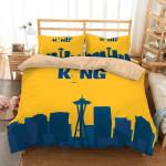 King Felix Seattle Mariners Duvet Cover Bedding Set