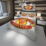 Logo Manchester F.C. 11 Duvet Cover Bedding Set