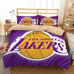Los Angeles Lakers 3 Duvet Cover Bedding Set