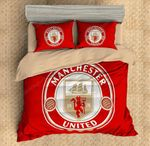 Manchester United F.C. Duvet Cover Bedding Set