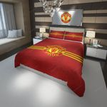 Manchester United Fc Football Club 1 Duvet Cover Bedding Set