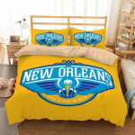 New Orleans Pelicans Duvet Cover Bedding Set