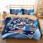 New England Patriots 2 Duvet Cover Bedding Set
