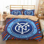 New York City Fc Duvet Cover Bedding Set