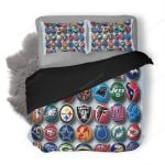 NFL 58 Duvet Cover Bedding Set