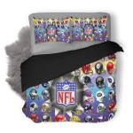 NFL 120 Duvet Cover Bedding Set