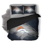 NFL Denver Broncos 5 Duvet Cover Bedding Set