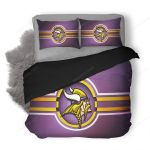 NFL Minnesota Vikings 3 Duvet Cover Bedding Set