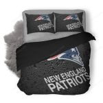 NFL New England Patriots 3 Duvet Cover Bedding Set