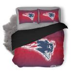 NFL New England Patriots 4 Duvet Cover Bedding Set