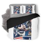 NFL New England Patriots 15 Duvet Cover Bedding Set