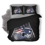 NFL New England Patriots 18 Duvet Cover Bedding Set