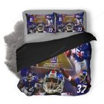 NFL New York Giants 2 Duvet Cover Bedding Set