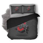 NFL Ohio State Buckeyes 1 Duvet Cover Bedding Set