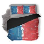 NFL Super Bowl 1 Duvet Cover Bedding Set