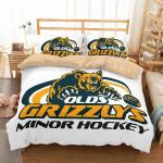 Olds Minor Hockey Duvet Cover Bedding Set