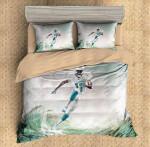 Parker Devante Miami Dolphins Duvet Cover Bedding Set