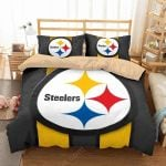 Pittsburgh Steelers 2 Duvet Cover Bedding Set
