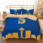 Seattle Mariners 2 Duvet Cover Bedding Set