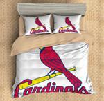 St. Louis Cardinals Duvet Cover Bedding Set