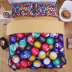 Snooker Billiards Duvet Cover Bedding Set