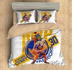 Stephen Curry 3 Duvet Cover Bedding Set