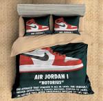 The Jordan Shoes 1 Duvet Cover Bedding Set