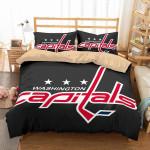 Washington Capitals 1 Duvet Cover Bedding Set