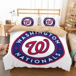 Washington Nationals Duvet Cover Bedding Set