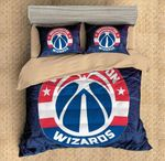 Washington Wizards Duvet Cover Bedding Set
