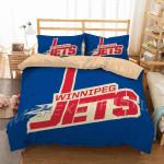 Winnipeg Jets Duvet Cover Bedding Set