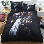 3D Black Skull Duvet Cover Bedding Set
