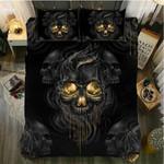 3D Black Duvet Cover Bedding Set