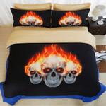 3D Sugar Skull Duvet Cover Set 4 Duvet Cover Bedding Set