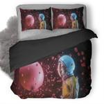 Astronaut Skull Duvet Cover Bedding Set