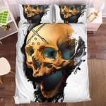 Badass Skull 2 Duvet Cover Bedding Set