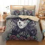 Beauty Skull Duvet Cover Bedding Set