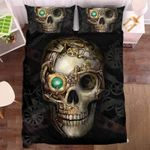 Bionic Skull Duvet Cover Bedding Set