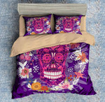Colorful Skull 3 Duvet Cover Bedding Set
