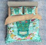 Colorful Skull 4 Duvet Cover Bedding Set