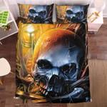 Dusty Skull Duvet Cover Bedding Set